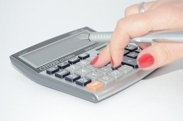 税理士による計算
